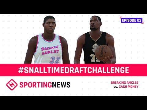 NBA 2K All-Time Draft | Episode 2: Kevin Durant vs. Magic Johnson