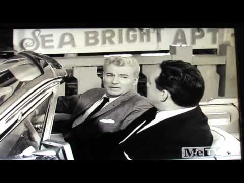 PERRY MASON 1962. Drives under Santa Monica Pier-Hot Dog on a Stick-visits ZAZU PITTS