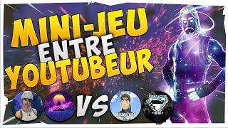 MINI JEUX - PETANQUE ON MISE LOURD AVEC LES POTOS YOUTUBEUR - Fortnite Sauver Le Monde