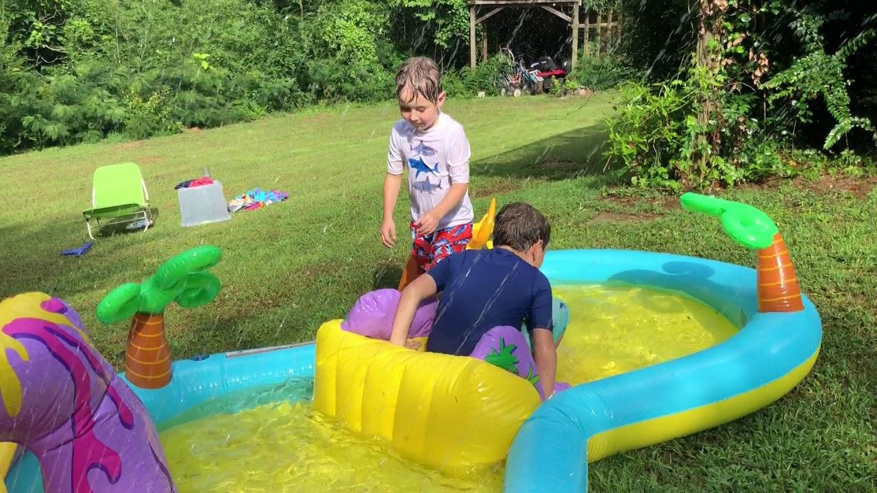 Backyard Water Park! - YouTube