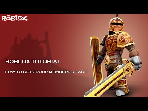 Roblox Tutorial: How To Gain Group Members FAST!