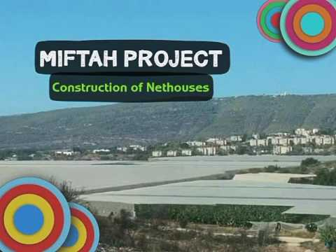 Miftah Project  -  Net House Construction