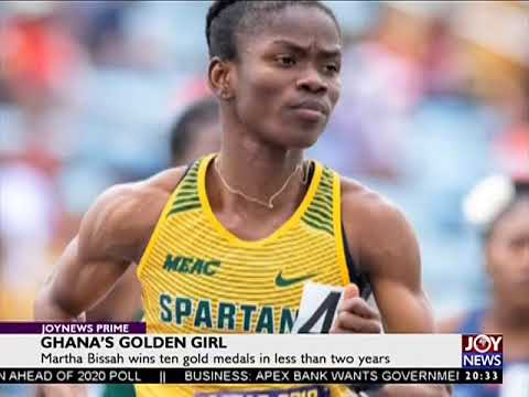 Ghana's Golden Girl - Joy Sports Prime (8-5-18)