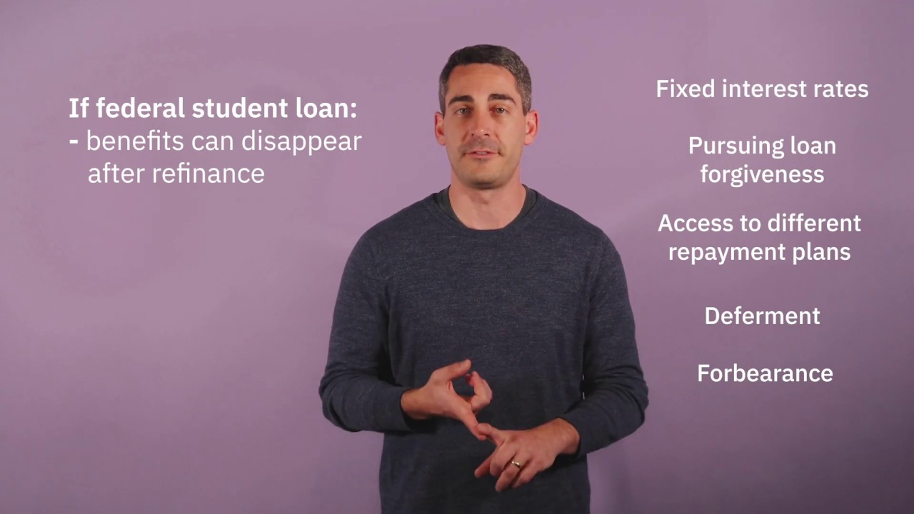 Pros and cons of refinancing a student loan   YouTube
