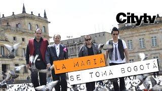 """Germán Arciniegas - """"La Magia se Toma Bogotá"""" en Citytv"""