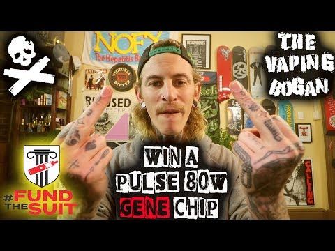 #Fund The Suit | Win A PULSE 80W WITH GENE CHIP!!! CRAZY RARE MOD | The Vaping Bogan