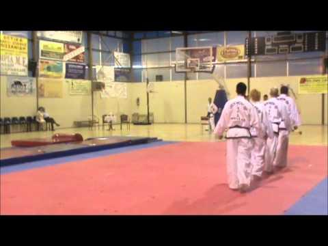 "Hellenic Taekwon-Do Demonstration Team ""Koufalia"" 11-06-2012"