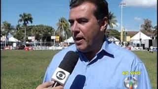 MG inter TV 1ª edição   Presidente da Sociedade Rural de Montes Claros fala da expectativa para a 41