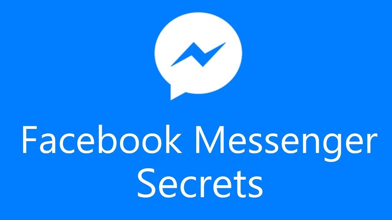 نتيجة بحث الصور عن Facebook Messenger Secrets