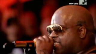 Gnarls Barkley - Smiley Faces (Live Roskilde 2008)