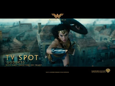 Wonder Woman ['Goddess' Extended TV Spot in HD (1080p)]
