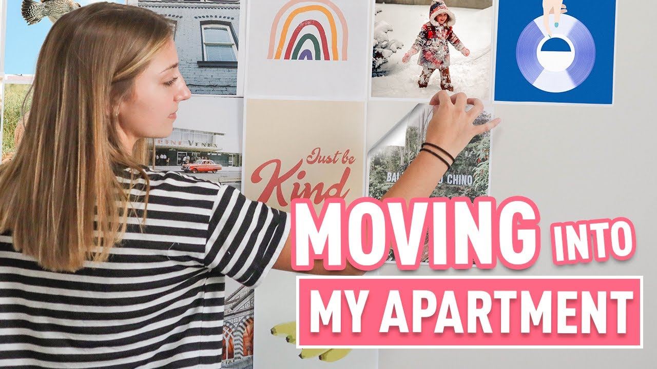 Moving Into My COLLEGE Apartment | College Move-In Day