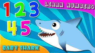 Fun Learn Numbers with BABY SHARK in ENGLISH