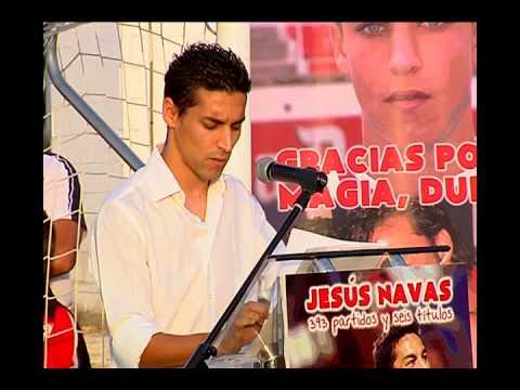 Discurso Jesús Navas en su despedida del Sevilla FC