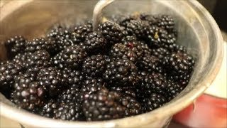 Aunt Duddie  Makes Blackberry Jam - again! And it's seedless!