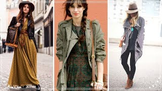 FASHION TREND 2018 | BOHO STYLE OUTFITS FOR WOMAN
