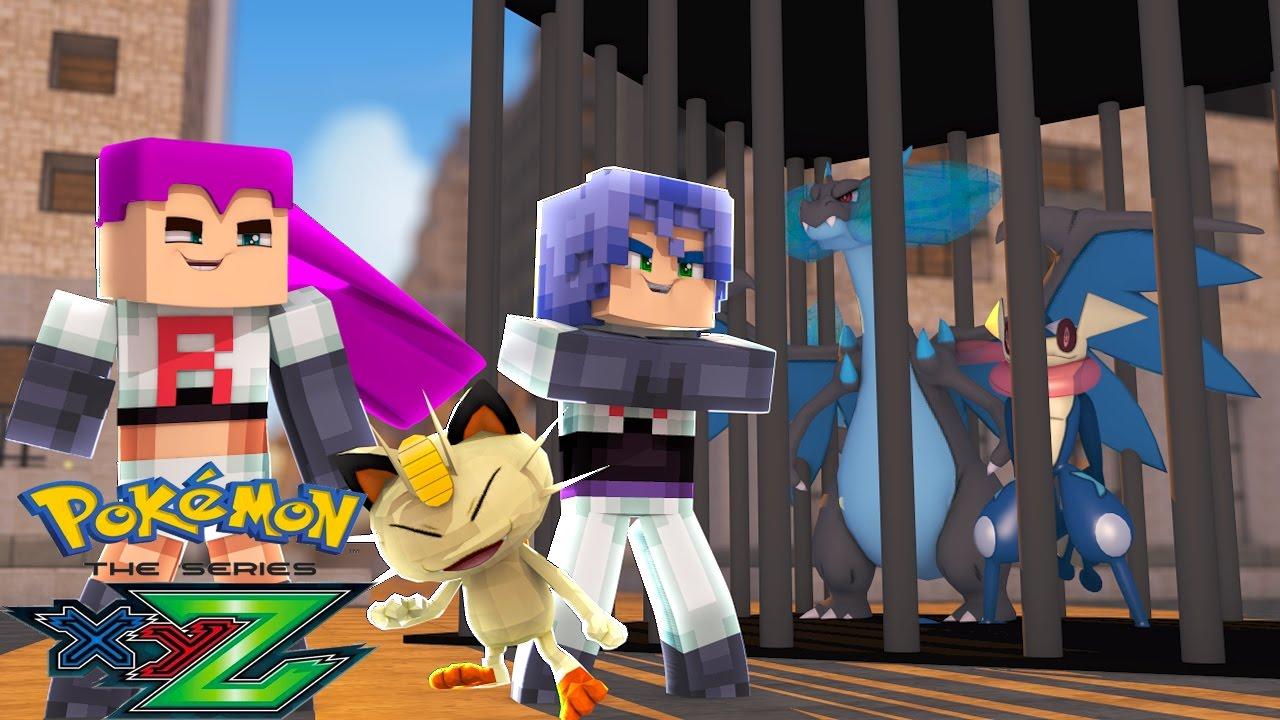 Minecraft Pokemon X Y Z Roubaram O Greninja E O Mega Charizard