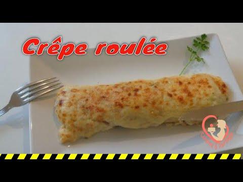 crêpe-roulée-béchamel-jambon-champignon