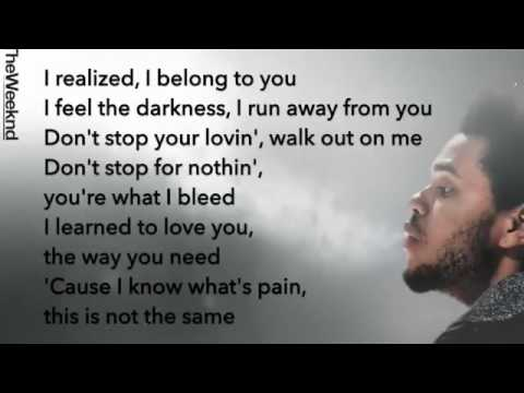 The Weeknd - Nothing Without You (Lyrics)