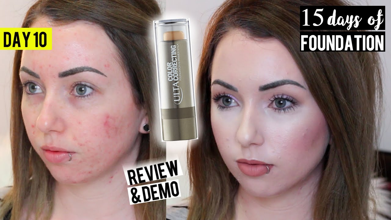 ULTA Color Correcting FOUNDATION STICK {First Impression Review ...