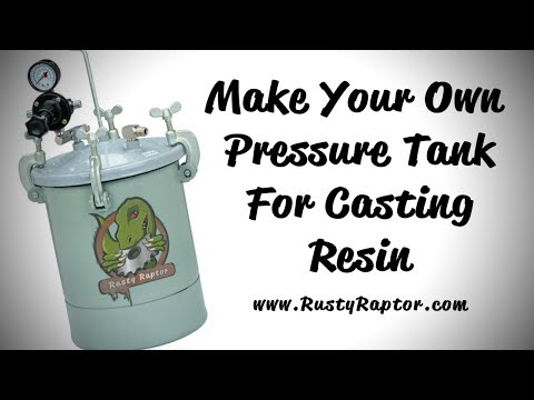 DIY Pressure Pot for Casting Clear Resin