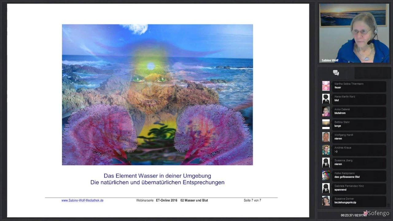 ET Online mit Sabine Wolf - 02 Wasser und Blut - YouTube
