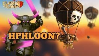 P.E.K.K.A + BALLOON | HPB + BALLOON | Th9 New 3 stars war strategy | Clash of clans