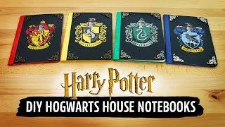 Harry Potter DIY Hogwarts House Notebooks | Sea Lemon Mp3