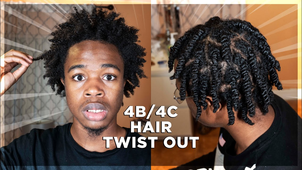 Girlfriend Does Twist Out On My Natural 4b 4c Hair Men S Curly Hair Routine King Infinity Youtube