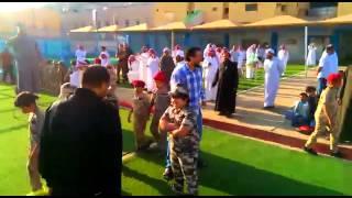 مهرجان العرض العسكري لطلاب صف ثالث بمدارس الرواد ببريدة - 1