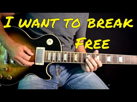 Queen  I Want To Break Free solo
