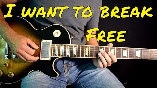 Queen - I Want To Break Free solo cover
