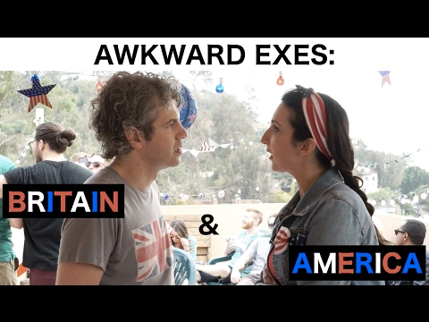 Awkward Exes: Britain & America (Fourth of July) - by We Are Thomasse
