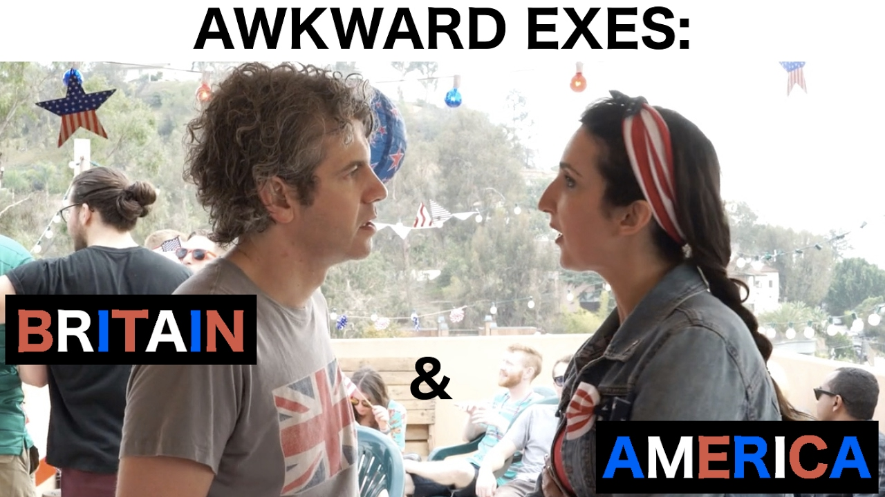 Awkward Exes Britain America Fourth Of July By We Are