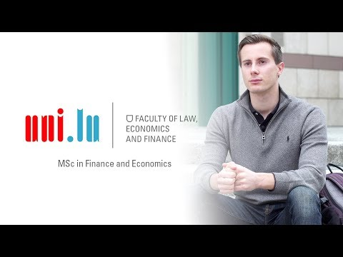 MSc in Finance and Economics