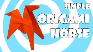 Simple Origami Horse (Pony) Tutorial