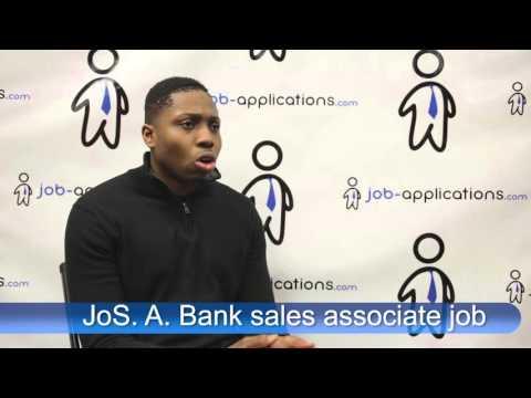 JoS. A. Bank Interview - Sales Associate