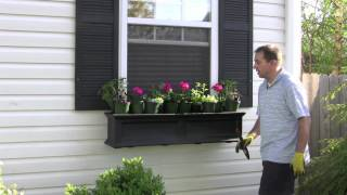 Part 3 - The Window Box Guy™, (732) 701-7561, Growing Flowers, Window Boxes, Window Planters