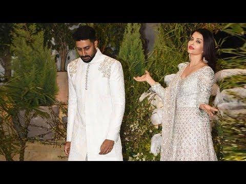 Abhishek Bachchan Insults Aishwarya Rai In Public At Sonam Kapoor Reception