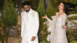 Abhishek Bachchan Insults Aishwarya Rai In Public At Sonam Kapoor Reception