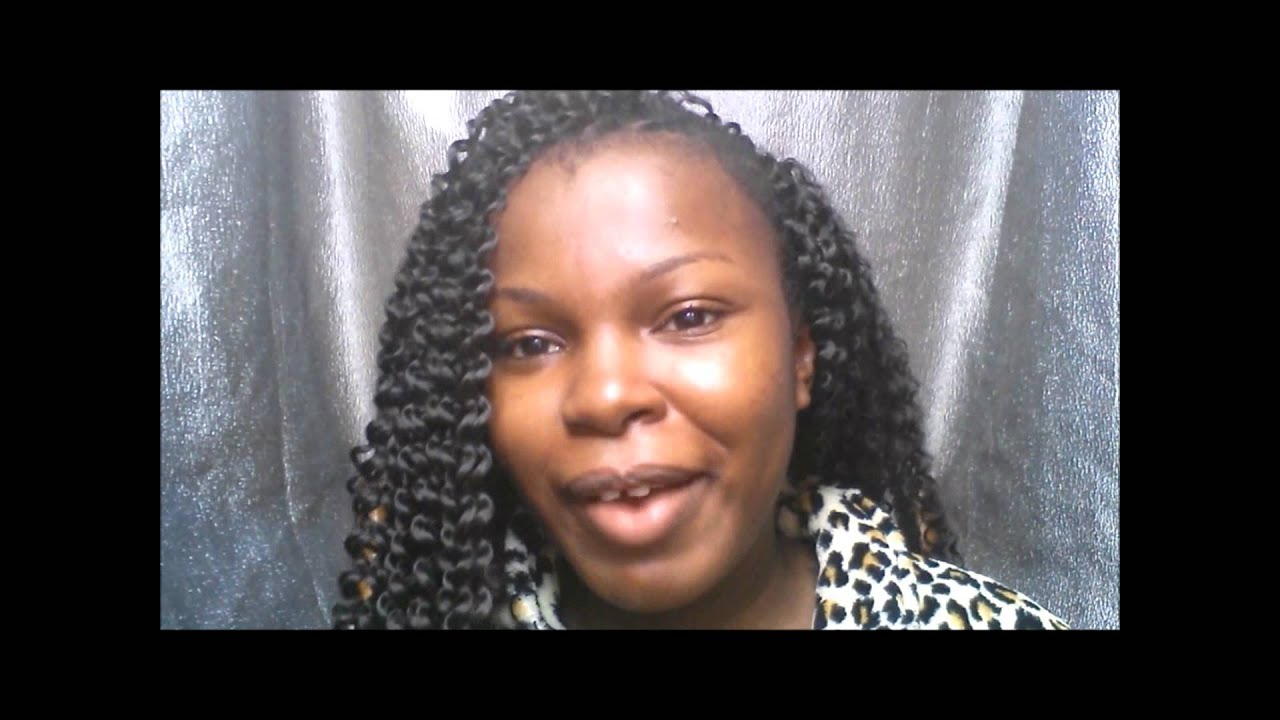 How To: Easy Crochet Braids With Freetress Bohemian Hair & A Bobby Pin