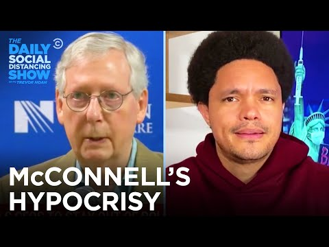 McConnell Wants Corporations Out of Politics Unless He Benefits | The Daily Social Distancing Show
