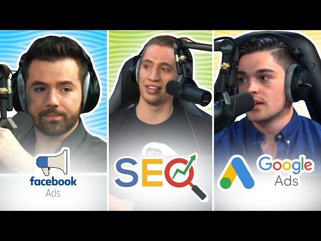 SEO, GOOGLE ADS, FACEBOOK ADS : Meilleure Source de Trafic en Dropshipping ? (Show #4)