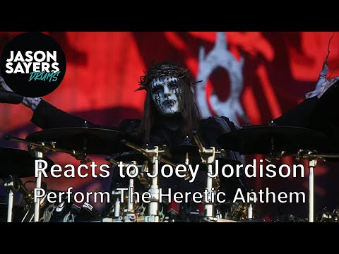 Drummer Reacts to Joey Jordison - The Heretic Anthem - Slipknot