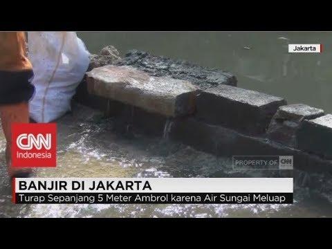 Diguyur Hujan, Warga Jakarta Was-Was Banjir