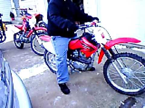 2005 Honda crf100 dirt bike - YouTube