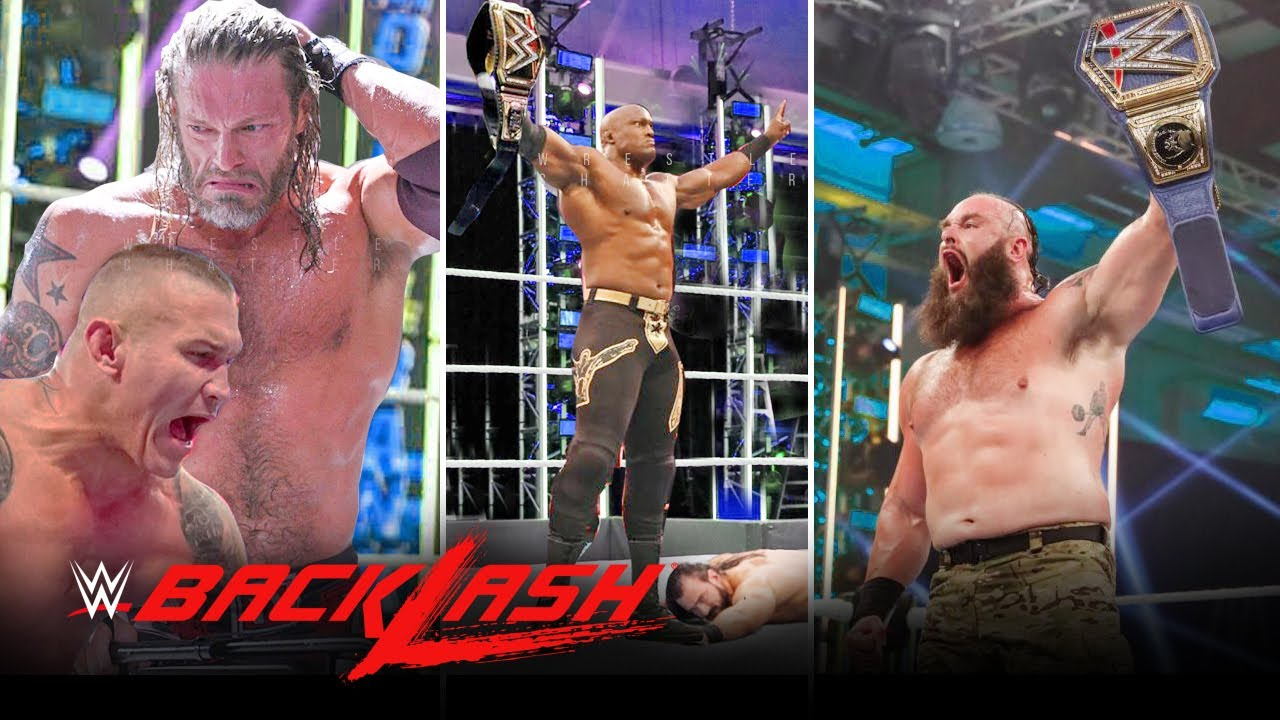 WWE Backlash 2020 Results: Edge Vs. Randy Orton Delivers And 5 ...