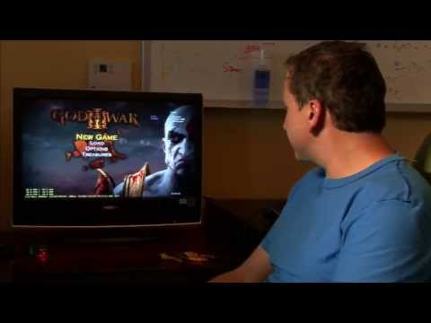 God of War 3 Bonus Features - User Interface - UI [SCE Santa Monica Studio Development Diary]
