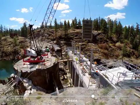 Upgrades Completed at Avista's Post Falls South Channel Dam