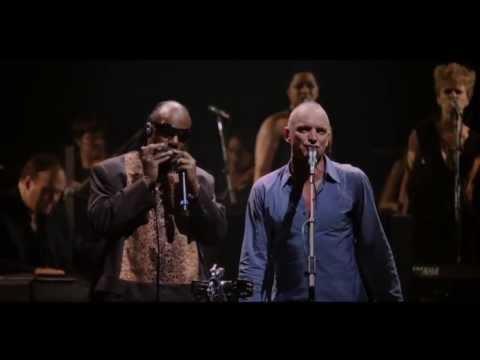Sting with Stevie Wonder - Brand New Day (Sting 60th Birthday)